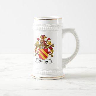 Escudo de la familia de Hutten Jarra De Cerveza