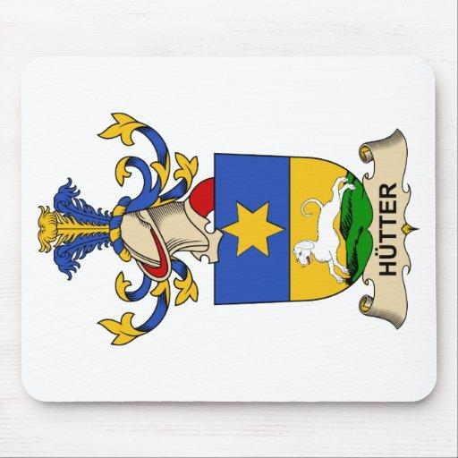 Escudo de la familia de Hütter Alfombrilla De Ratones