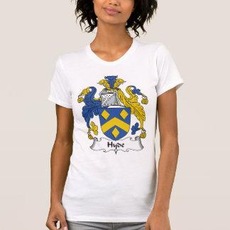 Escudo de la familia de Hyde Camisetas