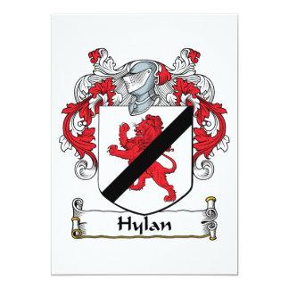 Escudo de la familia de Hylan