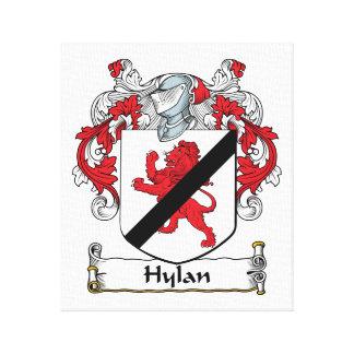 Escudo de la familia de Hylan Impresiones En Lona Estiradas