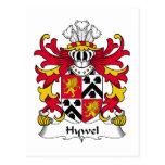 Escudo de la familia de Hywel Postal