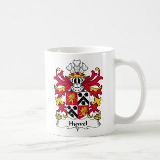 Escudo de la familia de Hywel Taza