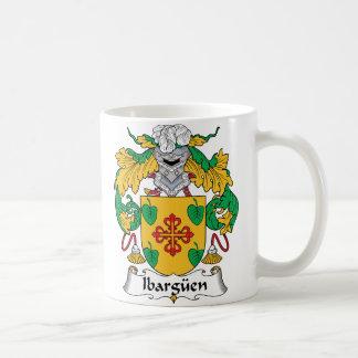 Escudo de la familia de Ibarguen Taza De Café