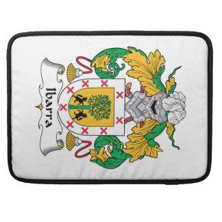 Escudo de la familia de Ibarra Fundas Macbook Pro