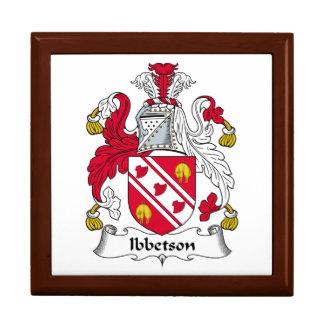 Escudo de la familia de Ibbetson Caja De Regalo