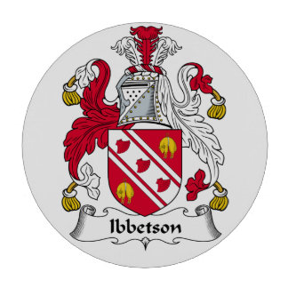 Escudo de la familia de Ibbetson Fichas De Póquer