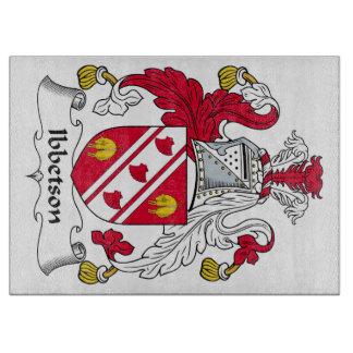 Escudo de la familia de Ibbetson Tabla Para Cortar