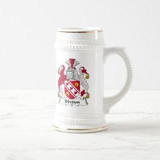Escudo de la familia de Ibbetson Tazas De Café
