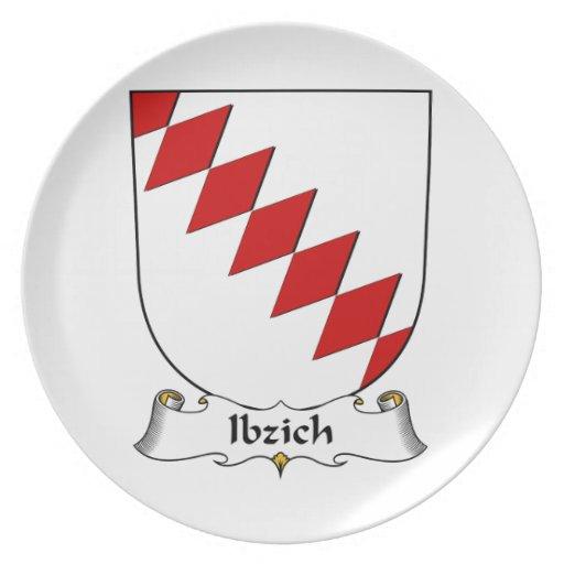 Escudo de la familia de Ibzich Platos Para Fiestas