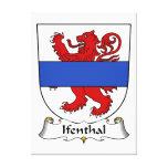 Escudo de la familia de Ifenthal Lona Estirada Galerías