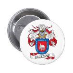 Escudo de la familia de Iglesias Pin Redondo 5 Cm