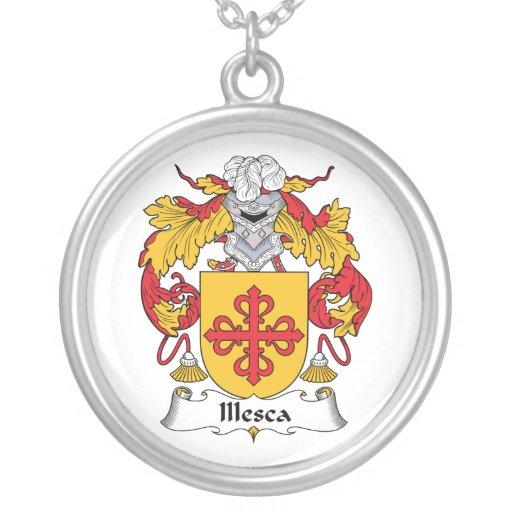 Escudo de la familia de Illesca Colgante Redondo