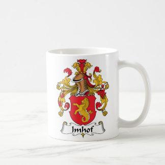 Escudo de la familia de Imhof Tazas