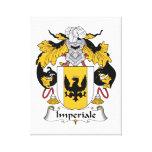 Escudo de la familia de Imperiale Impresion De Lienzo