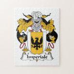 Escudo de la familia de Imperiale Rompecabeza Con Fotos