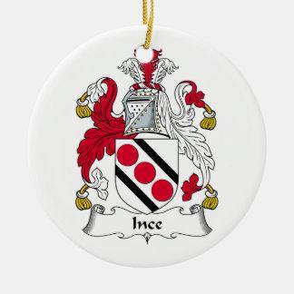 Escudo de la familia de Ince Ornamentos Para Reyes Magos