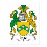 Escudo de la familia de Inge Postales