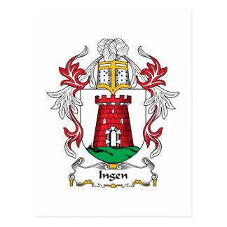 Escudo de la familia de Ingen Postal