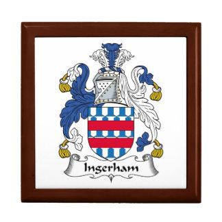 Escudo de la familia de Ingerham Caja De Recuerdo