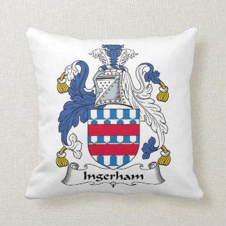 Escudo de la familia de Ingerham Cojines