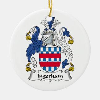 Escudo de la familia de Ingerham Ornamentos De Reyes