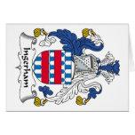 Escudo de la familia de Ingerham Felicitación