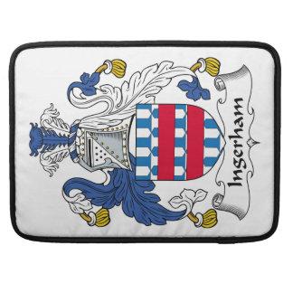 Escudo de la familia de Ingerham Funda Para Macbooks