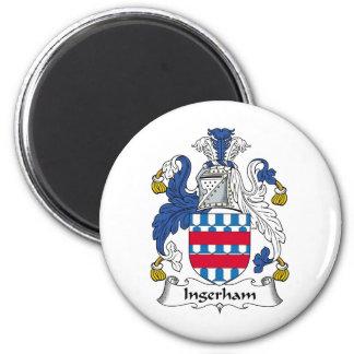 Escudo de la familia de Ingerham Imanes De Nevera