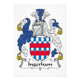 Escudo de la familia de Ingerham Comunicados Personales