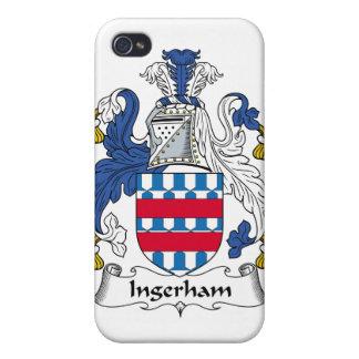 Escudo de la familia de Ingerham iPhone 4 Carcasa