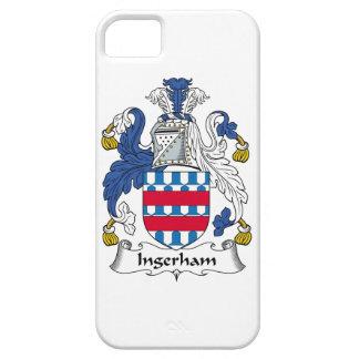 Escudo de la familia de Ingerham iPhone 5 Carcasas