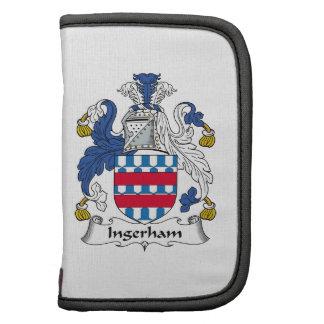 Escudo de la familia de Ingerham Organizadores