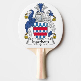 Escudo de la familia de Ingerham Pala De Ping Pong