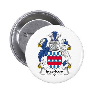 Escudo de la familia de Ingerham Pin