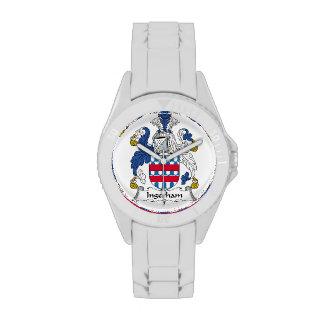 Escudo de la familia de Ingerham Reloj