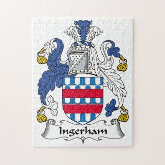Escudo de la familia de Ingerham Rompecabeza