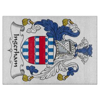 Escudo de la familia de Ingerham Tabla De Cortar