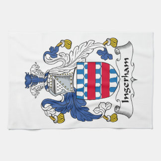 Escudo de la familia de Ingerham Toallas De Mano
