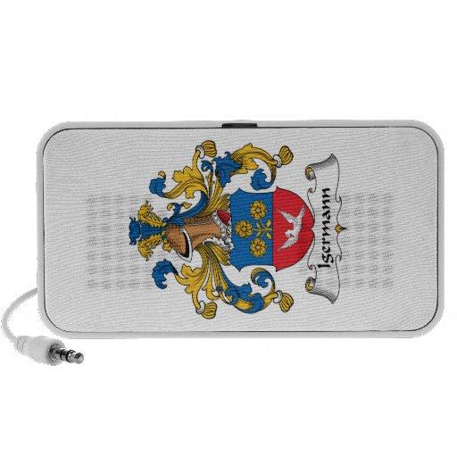 Escudo de la familia de Ingermann iPhone Altavoz