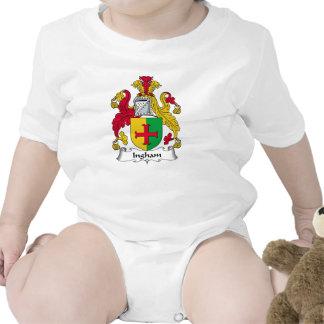 Escudo de la familia de Ingham Camisetas
