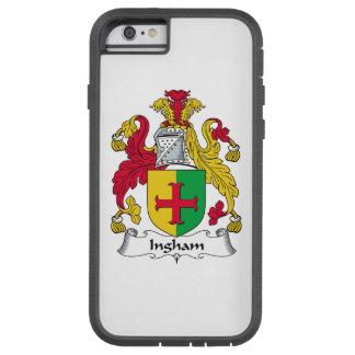 Escudo de la familia de Ingham Funda De iPhone 6 Tough Xtreme