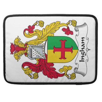 Escudo de la familia de Ingham Funda Macbook Pro