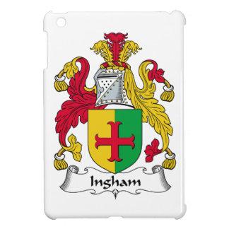 Escudo de la familia de Ingham iPad Mini Cárcasa