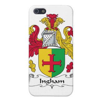 Escudo de la familia de Ingham iPhone 5 Coberturas