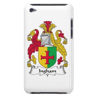 Escudo de la familia de Ingham iPod Touch Cárcasa