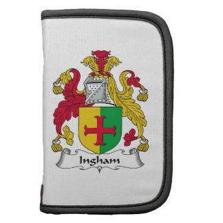 Escudo de la familia de Ingham Planificadores