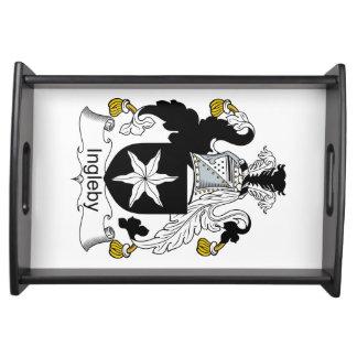 Escudo de la familia de Ingleby Bandejas