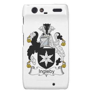 Escudo de la familia de Ingleby Droid RAZR Funda