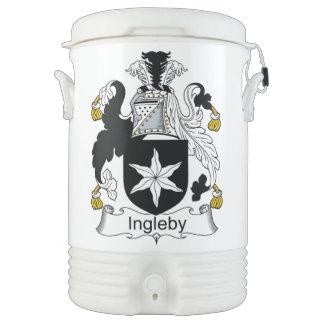 Escudo de la familia de Ingleby Refrigerador De Bebida Igloo